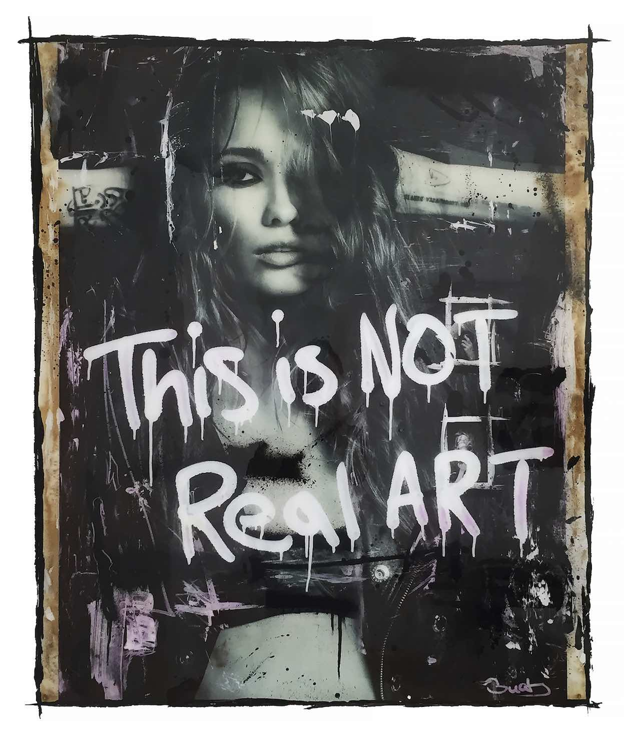This is not real art by Richard Guaty